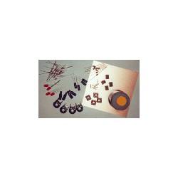 4x Astabile Kippstufe - Blinkschaltung (OP LM 358)