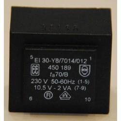 Printtransformator 1x 10,5V