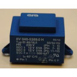 Printtransformator 2x 12V